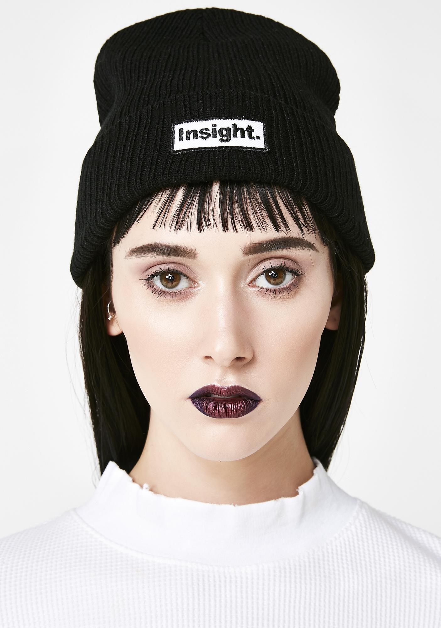 Insight Patch Beanie