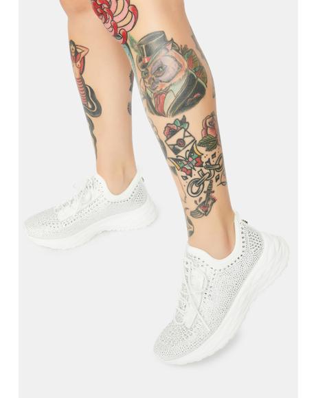 Cease Rhinestone Sneakers