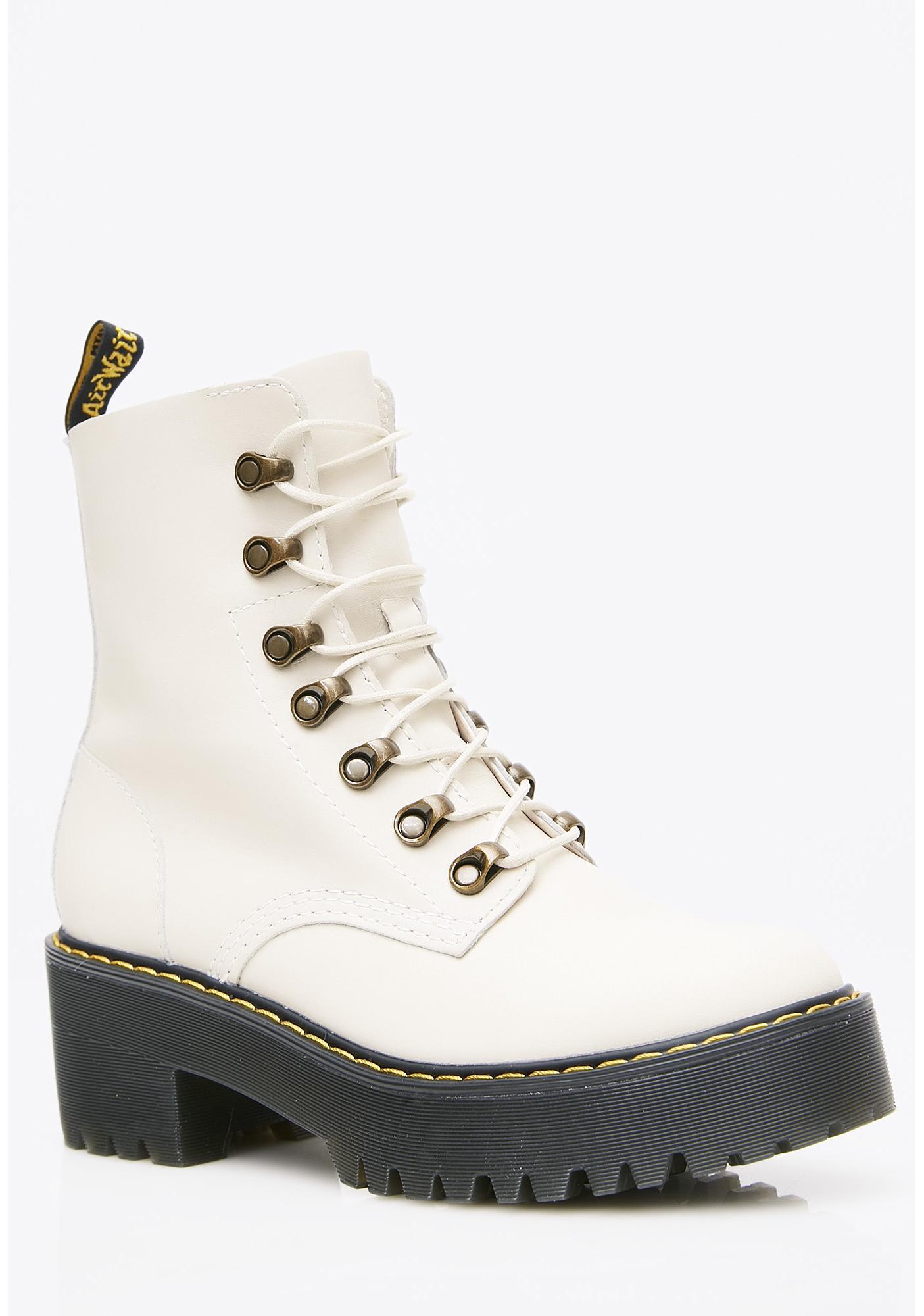 Dr. Martens Bone Leona Boots