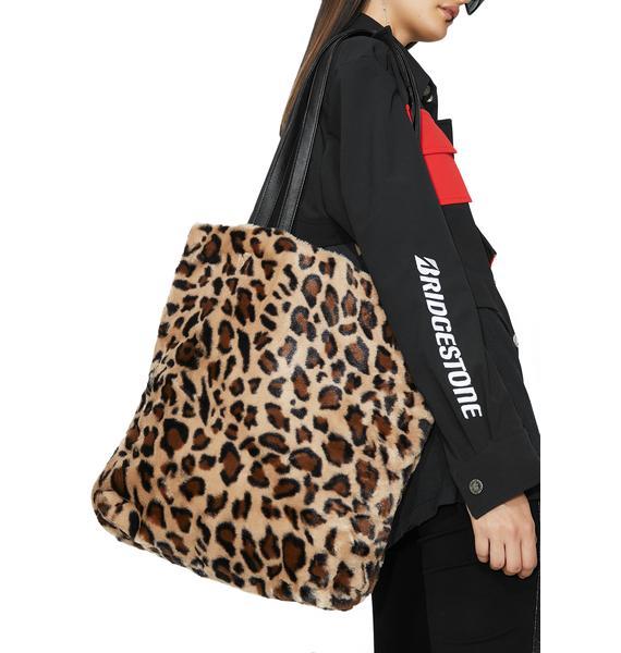 Sassy Leopard Tote Bag