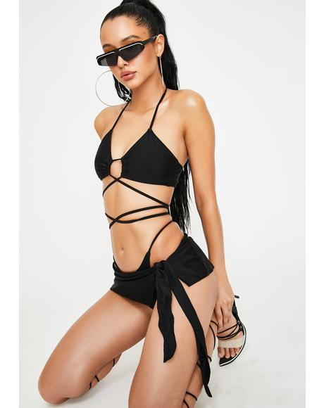 Explore This Criss Cross Bikini Set