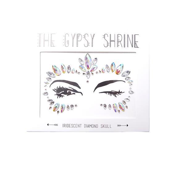 The Gypsy Shrine Iridescent Diamond Face Jewels