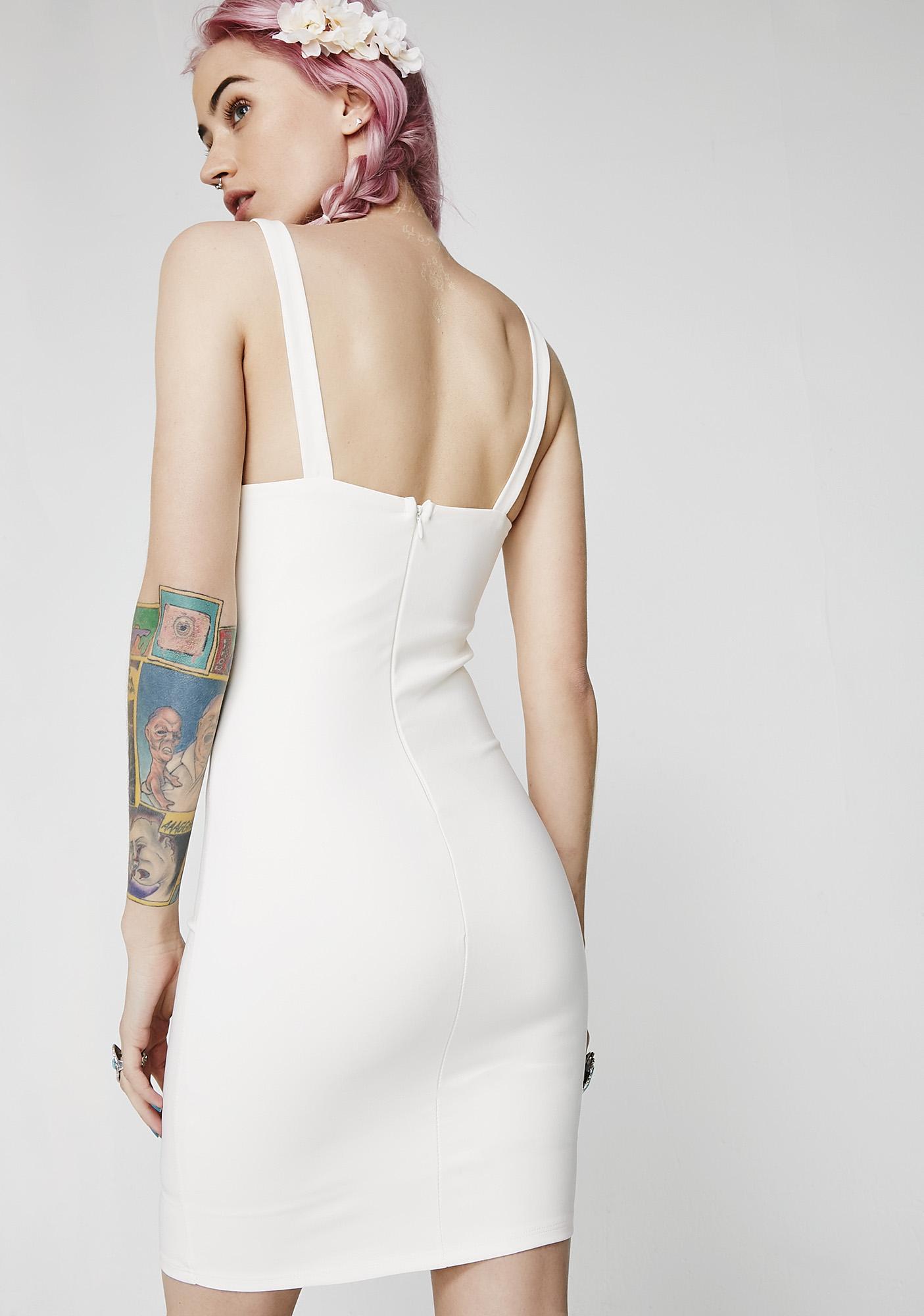 Next Baddie Buckle Dress
