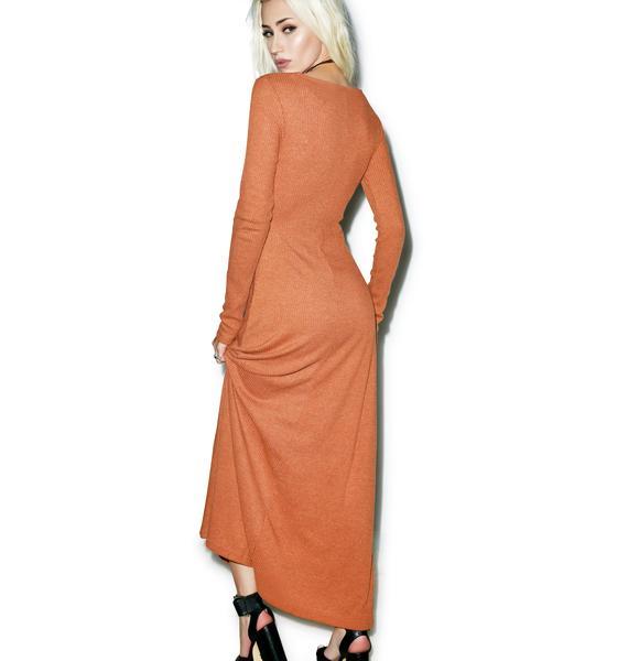 Somedays Lovin Patti Rib Maxi Dress
