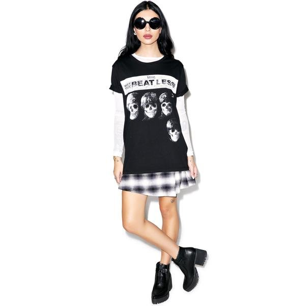 Disturbia Beat Less Girls Tee