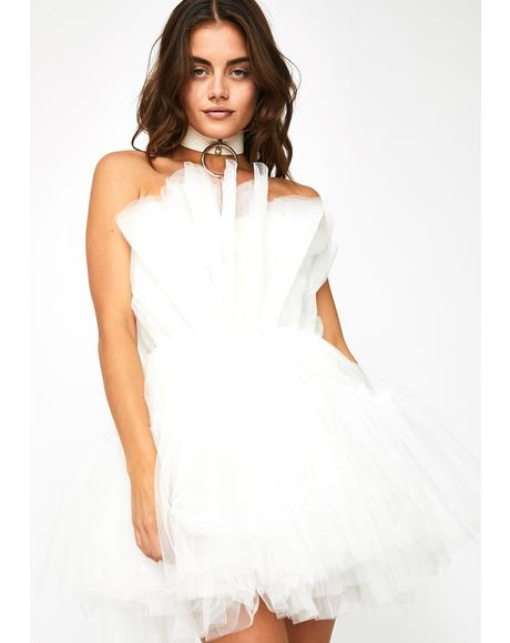 Top Tier Tease Tulle Dress