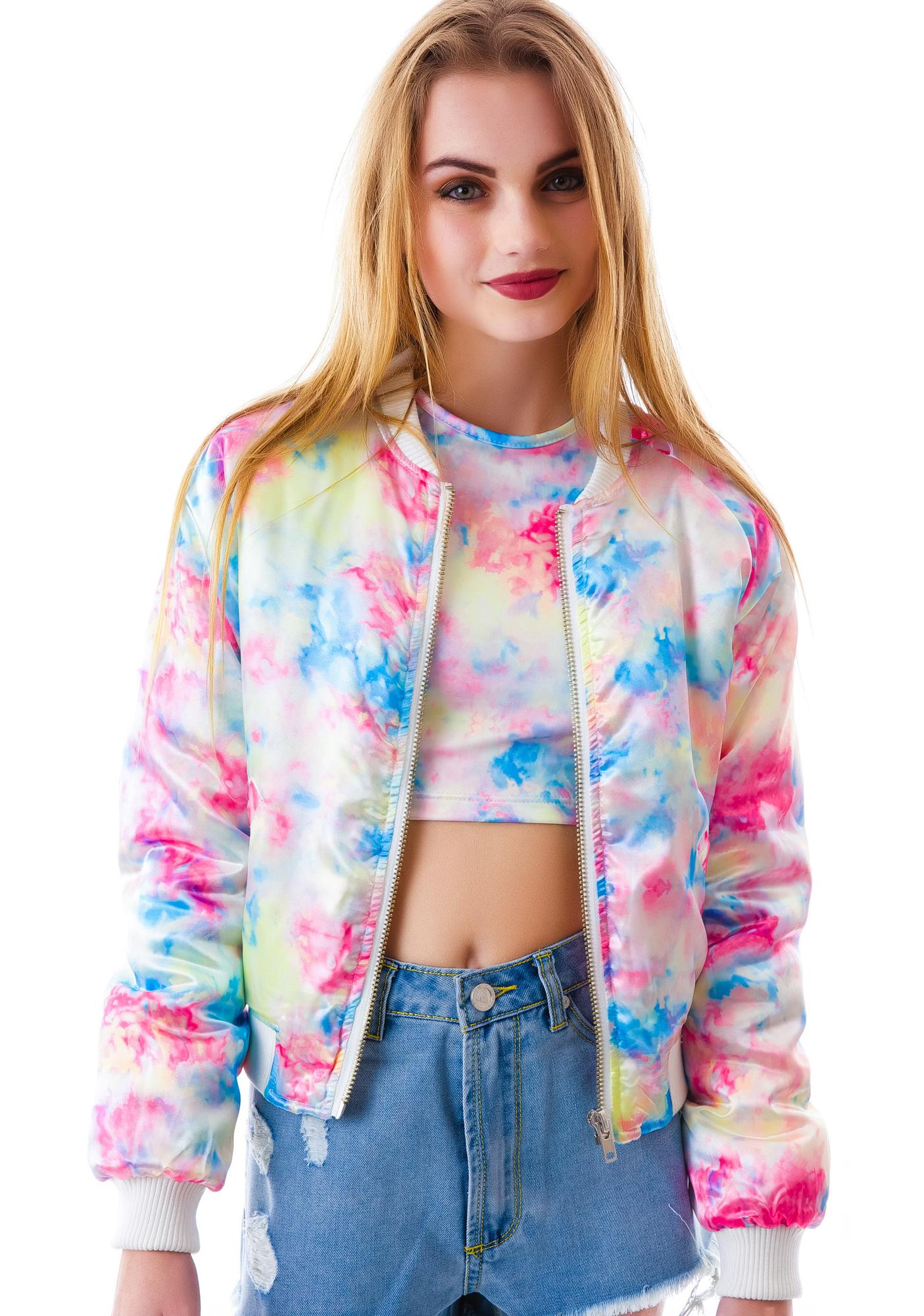 UNIF Don't Carey Bomber Jacket