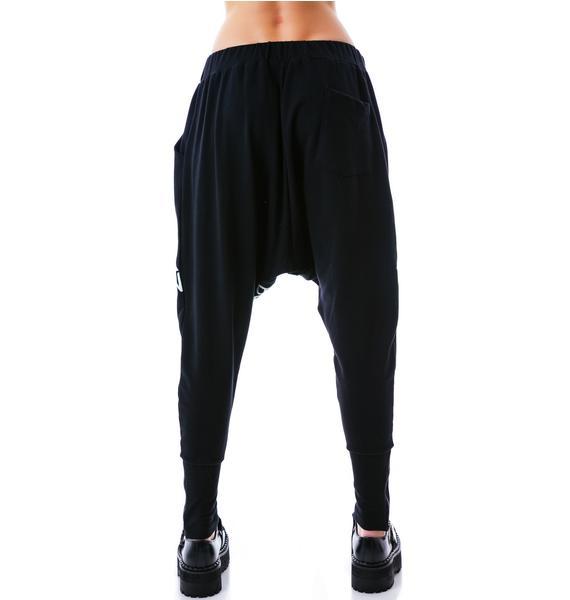 BOY London Jack Eagle Boy London Drop Crotch Pants