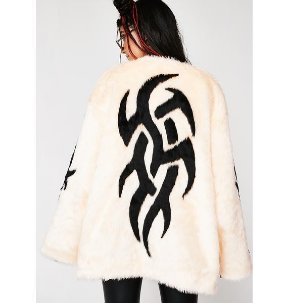 Feast Studio Tribal Free Boxie Fur Coat