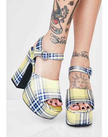 Totally Clueless Platform Heels