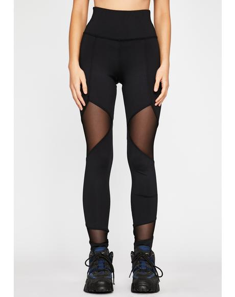 Breaking Boundaries Mesh Leggings