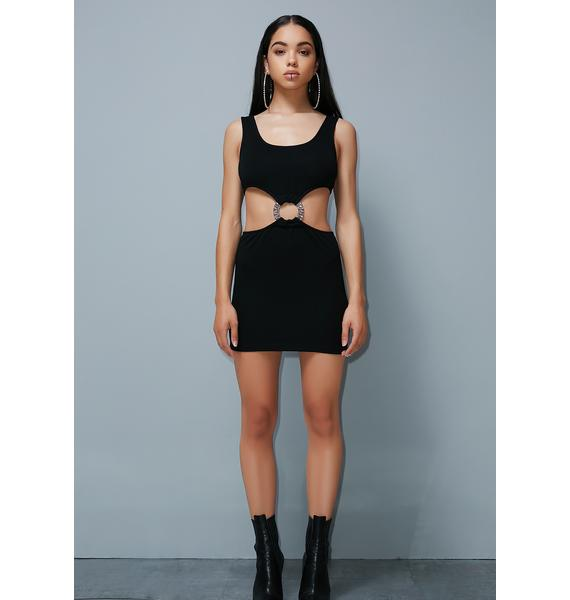 Poster Grl Stray Don't Stay Cut-Out Dress