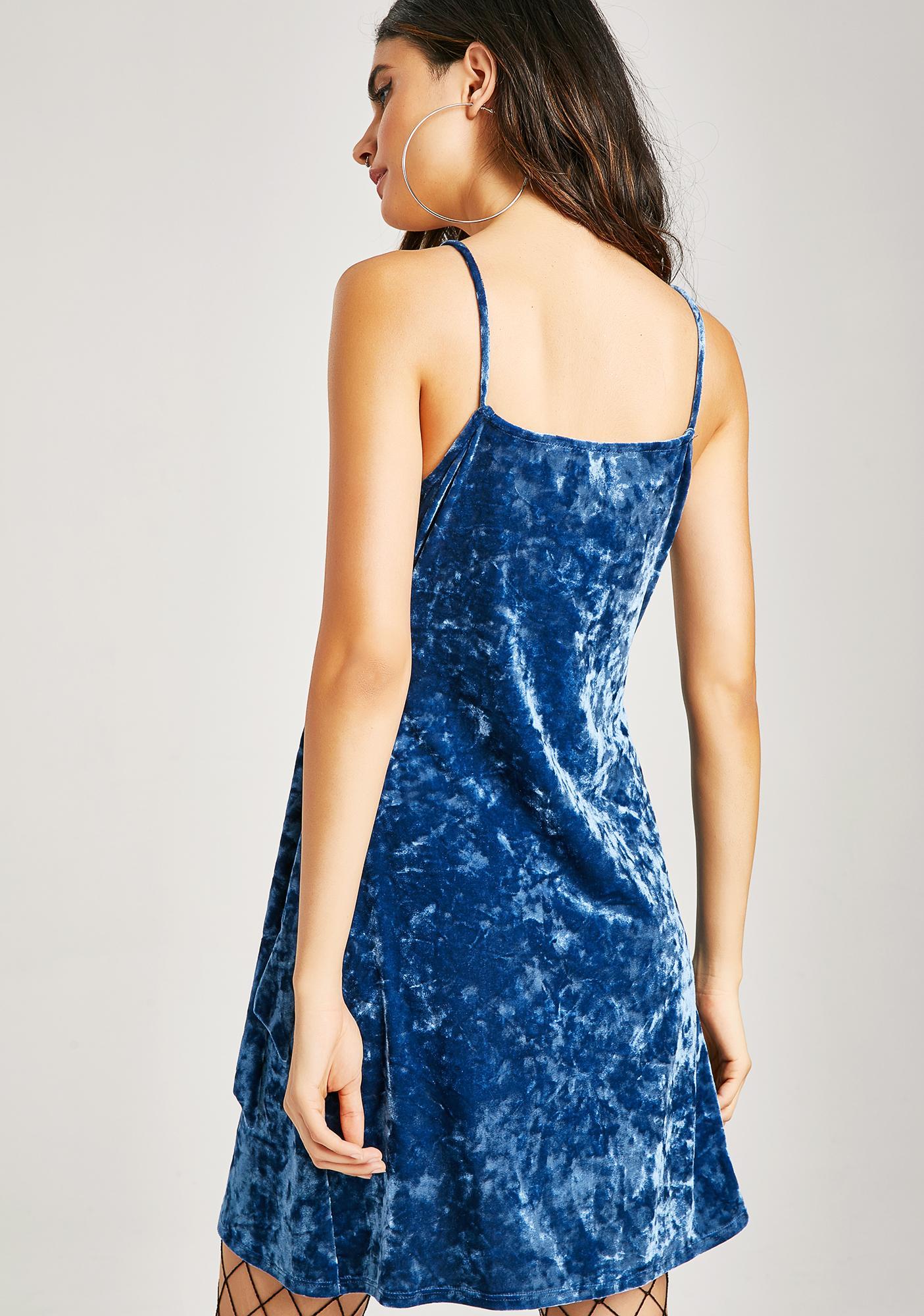 Gentle Soul Velvet Dress