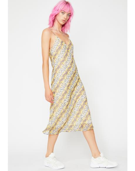 La Gardenia Floral Dress