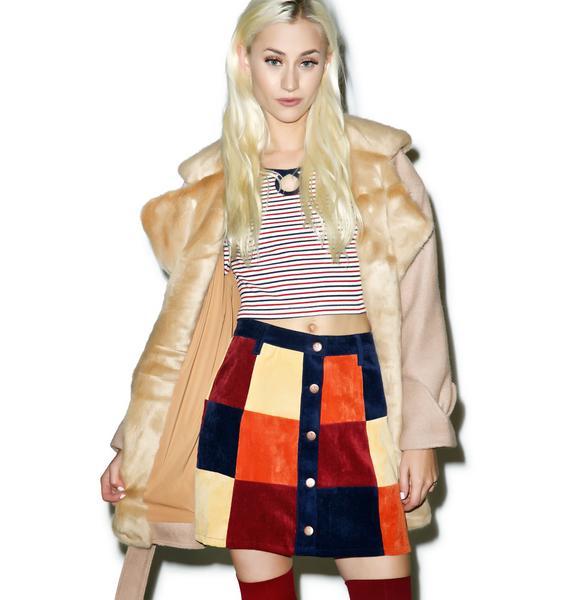 Mink Pink Mix It Up Skirt