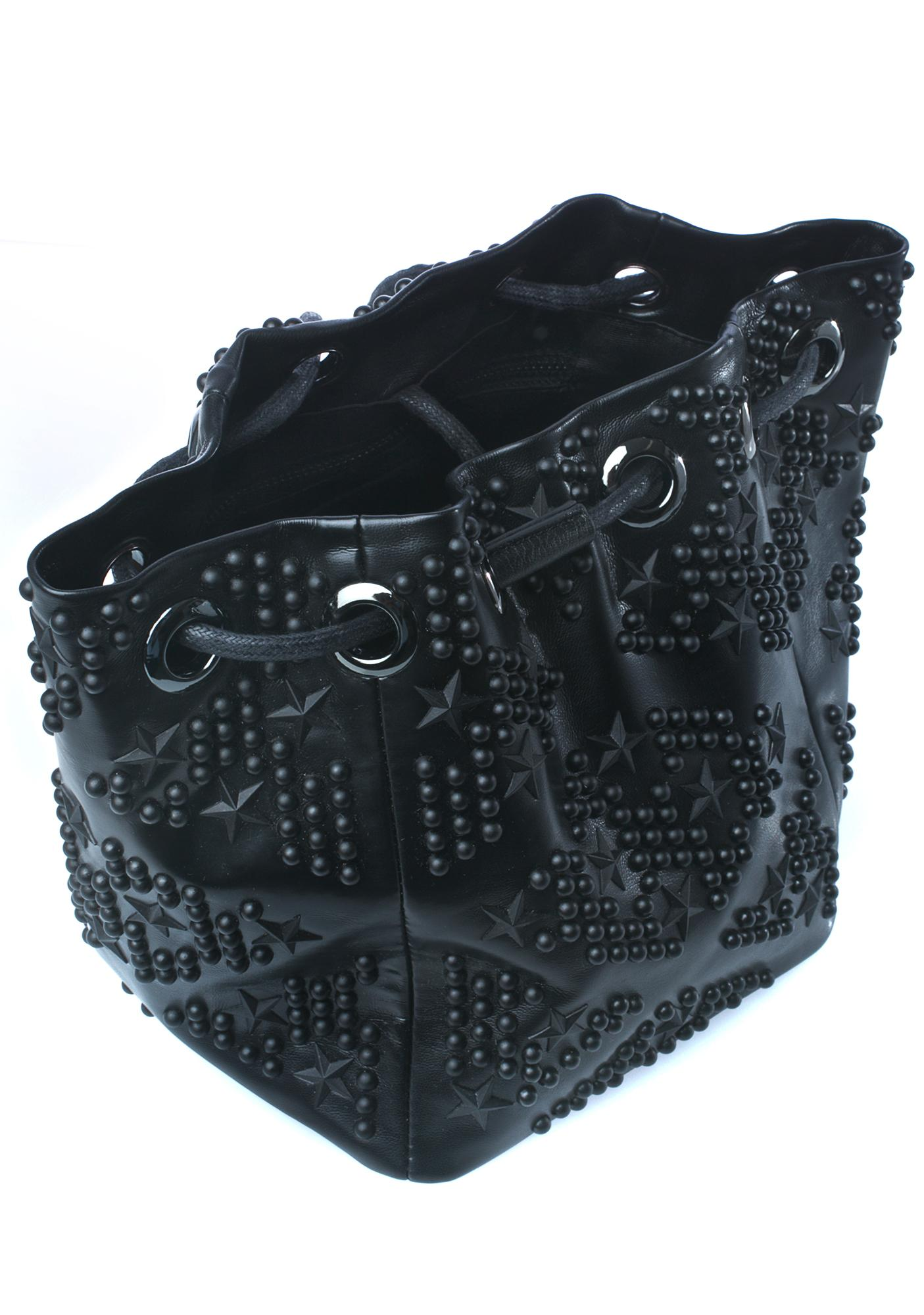 Studded Nights Bucket Bag