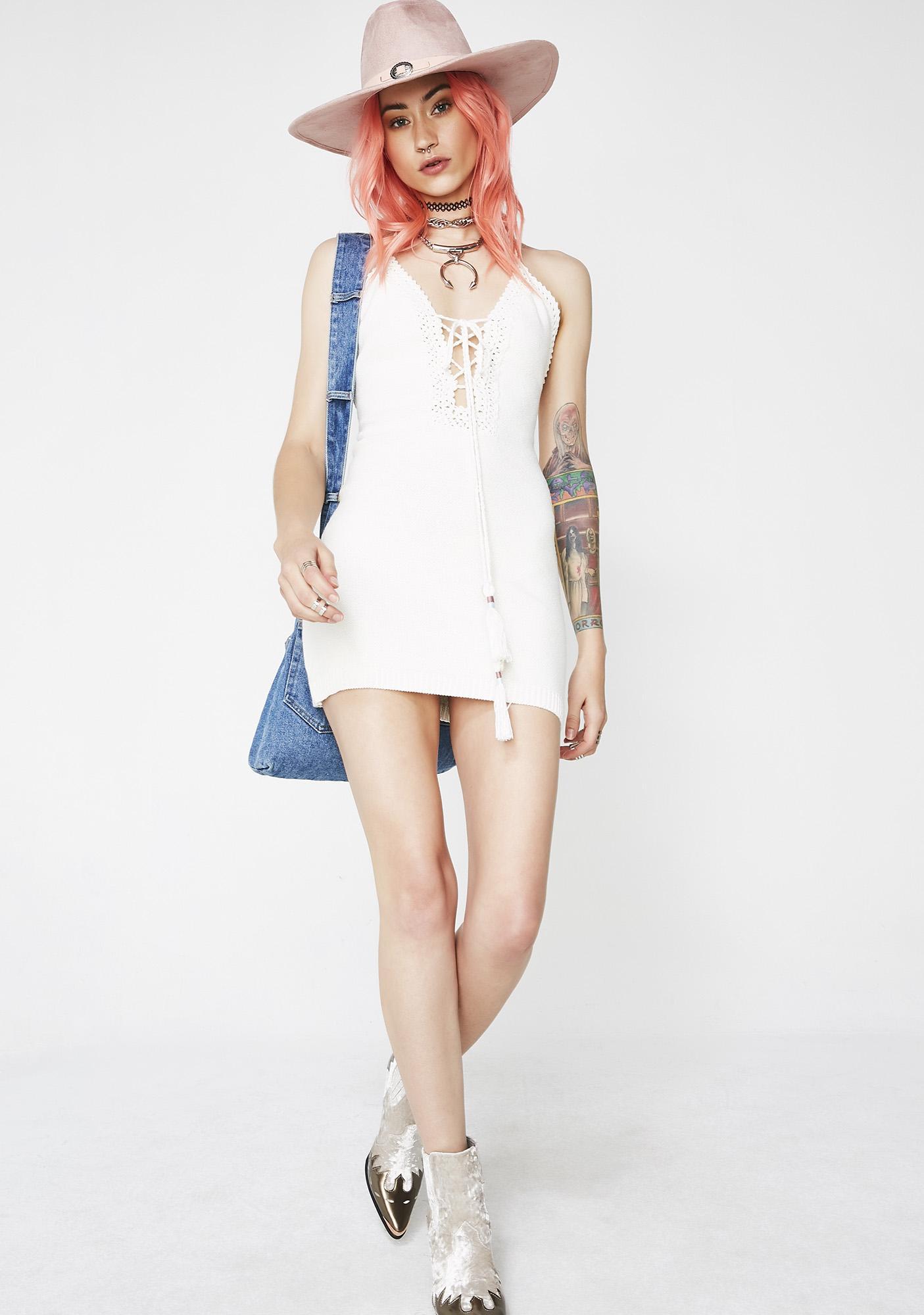 Sweet Daze Crochet Dress