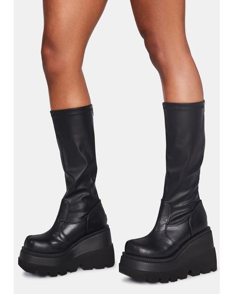 Shook Up Platform Boots