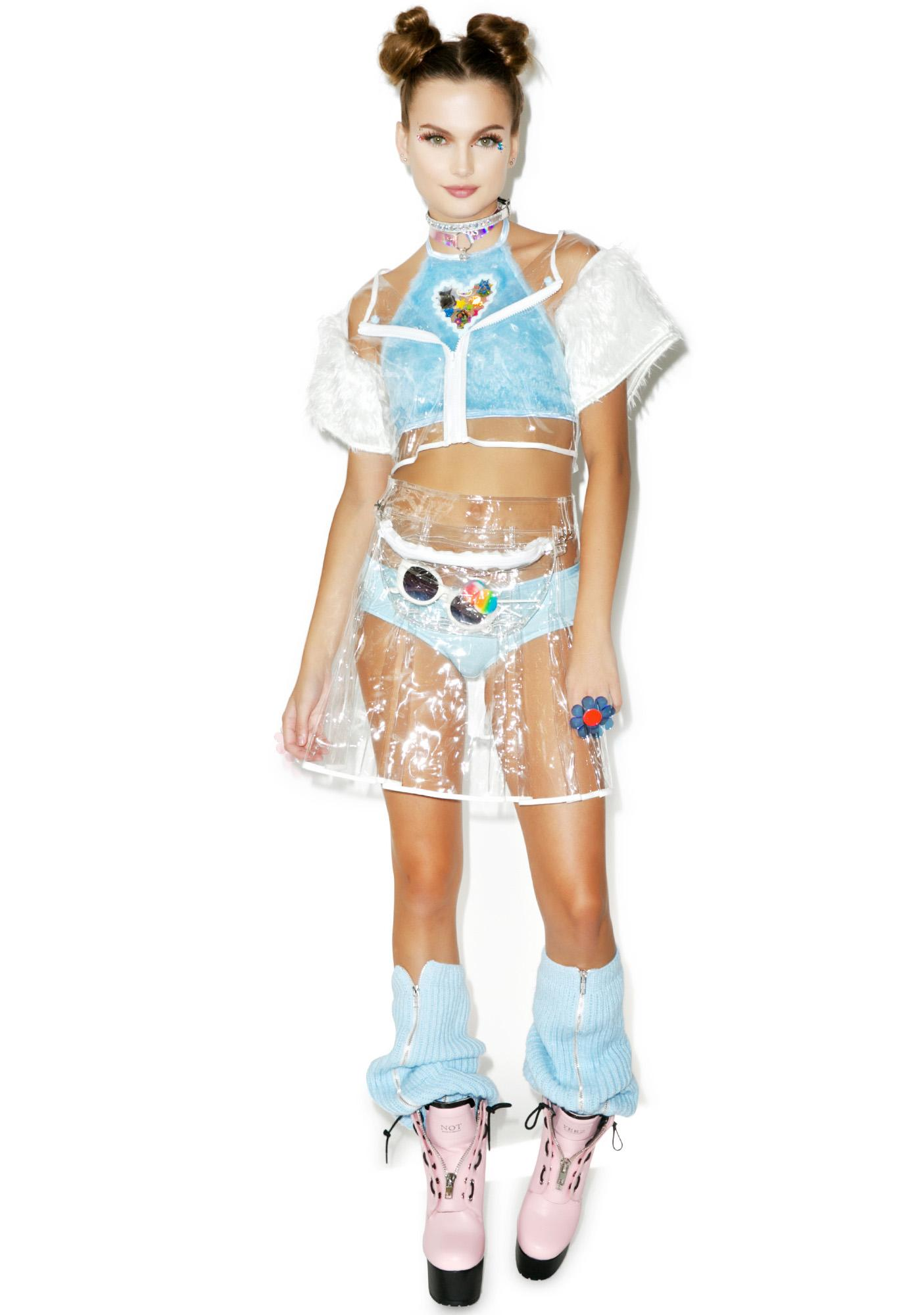 Indyanna Scary Spice PVC Crop Top