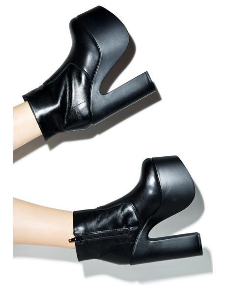 Rollin With Da Homies Platform Boots