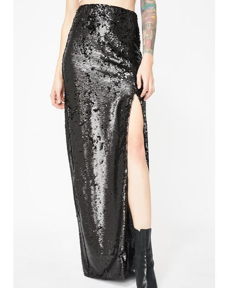 Midnight Forever Shinin' Sequin Skirt
