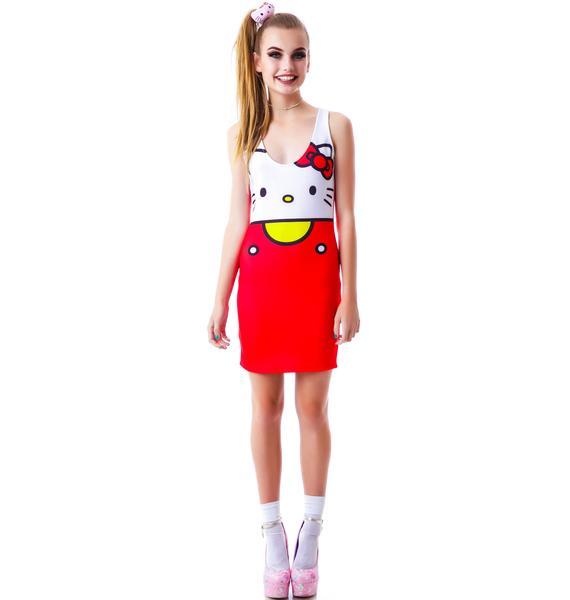 Japan L.A. Hello Kitty Bodycon Dress