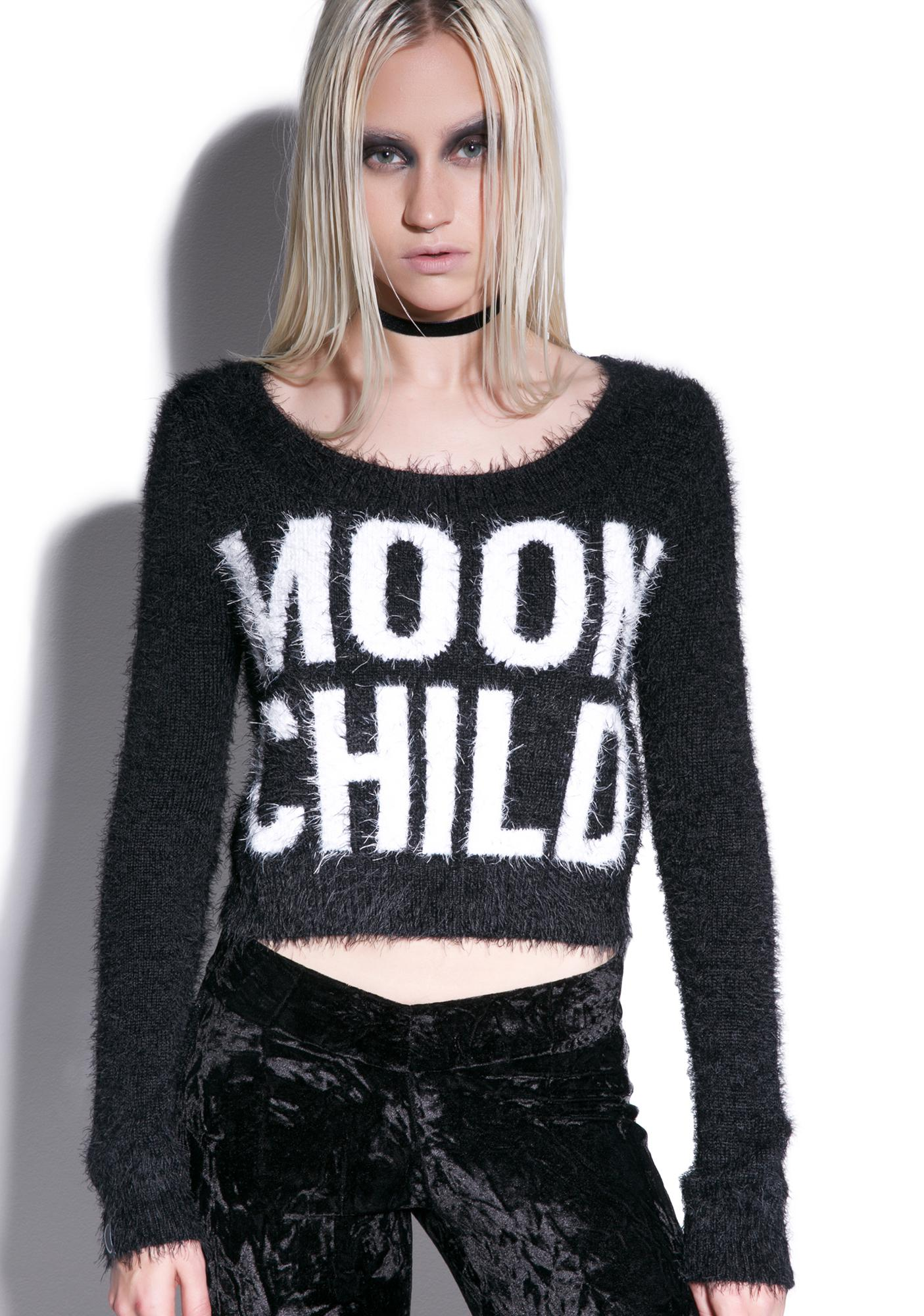 Killstar Dropout Moonchild Sweater