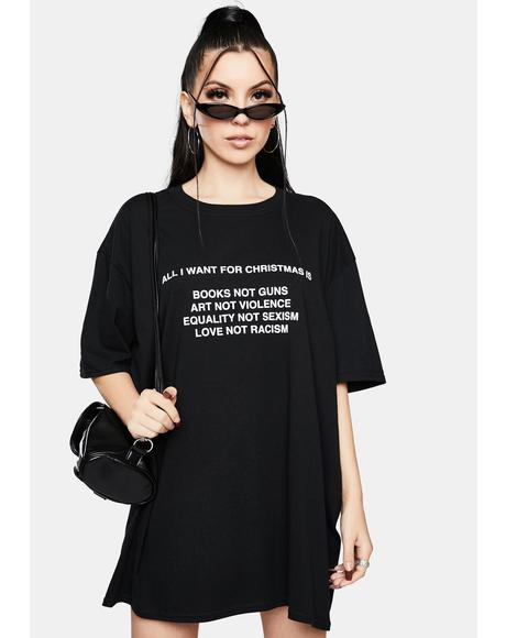 All I Want For Christmas Graphic Tee