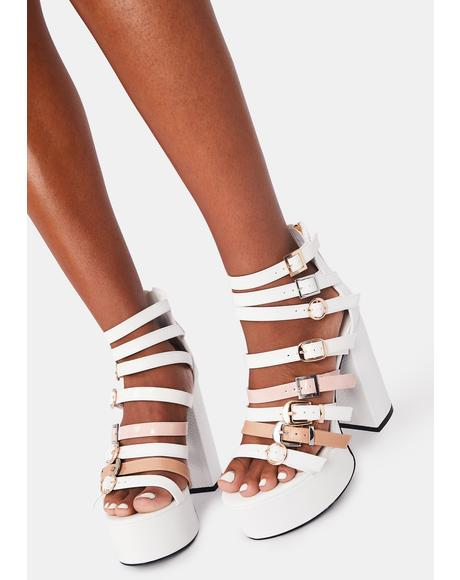 Proper Edition Platform Heels