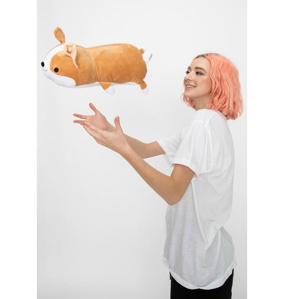 Smoko Milo Corgi Vibrating Plush