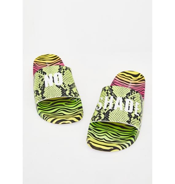 Shade Thrower Neon Slides