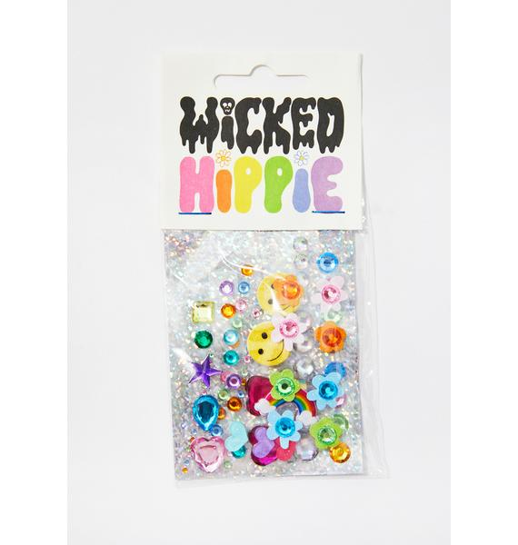 Wicked Hippie Love Face Jewelz
