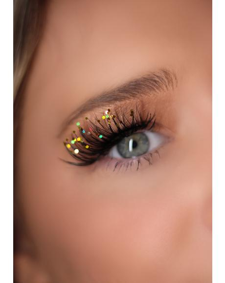 Classic Gold Sparkle Lashes