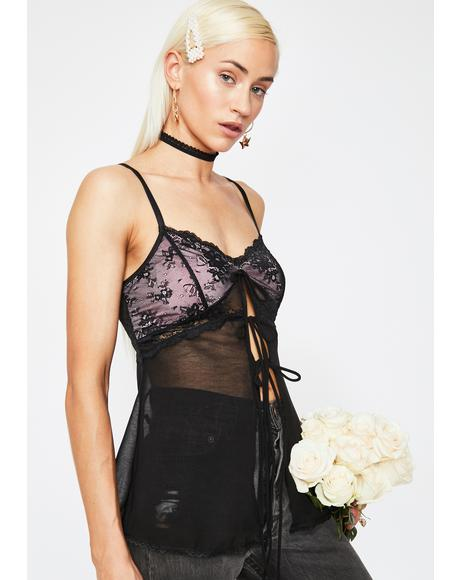Dream Snatcher Sheer Cami