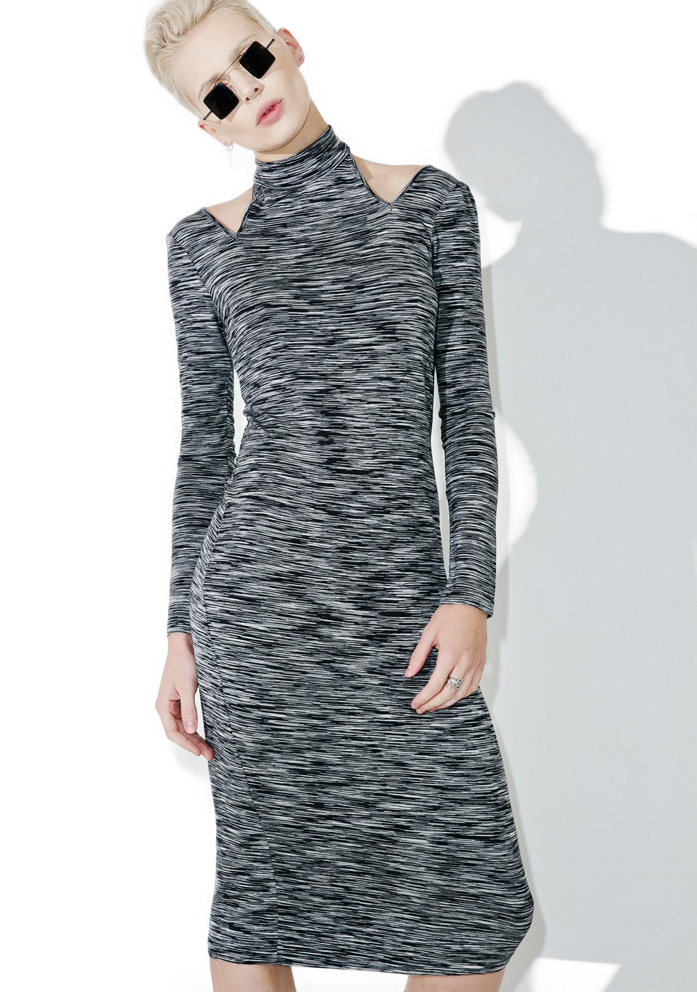Obey Zoey Cut-Out Dress