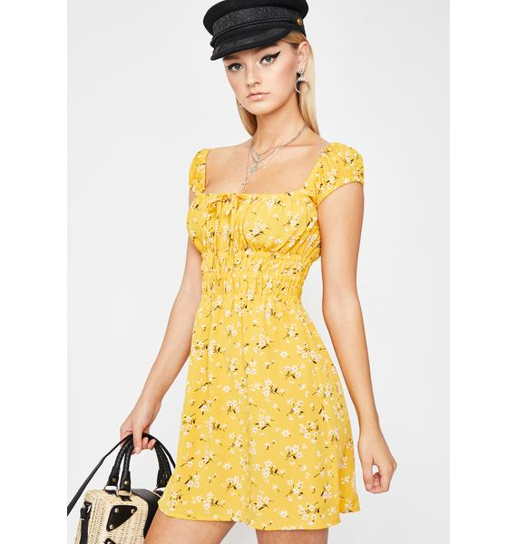 Wildflower Child Mini Dress