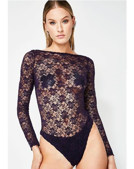 Love Sparks Lace Teddy