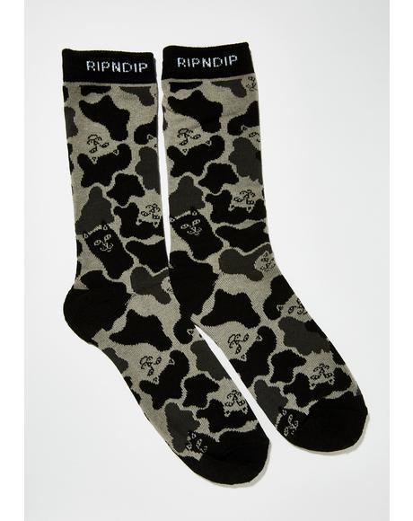 Nerm Camo Socks