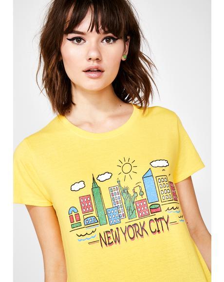 New York City Boyfriend Tee