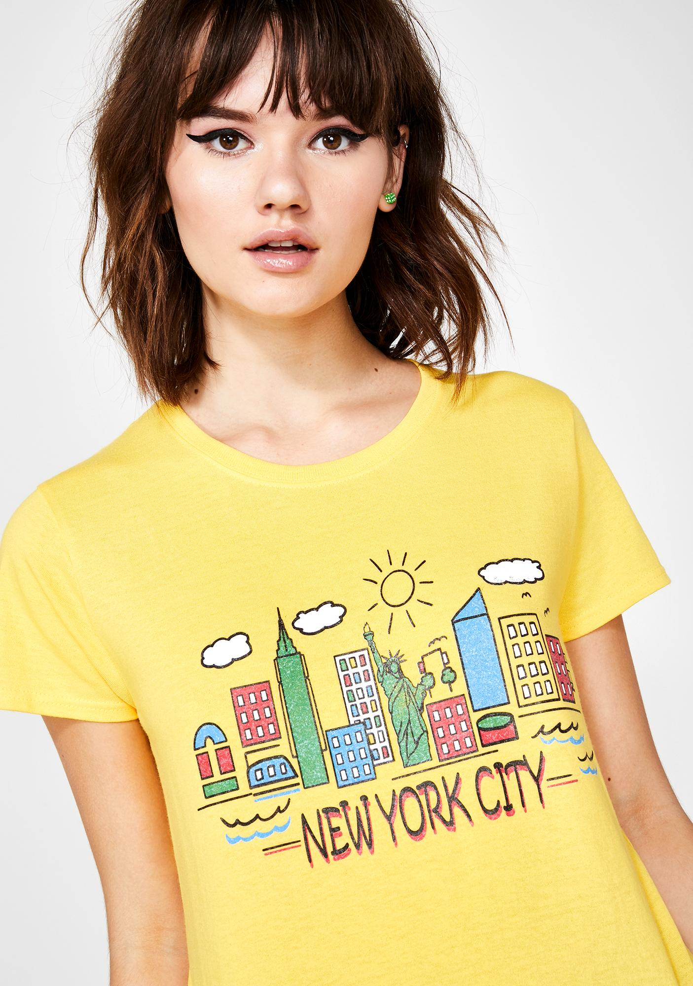 Daisy Street New York City Boyfriend Tee