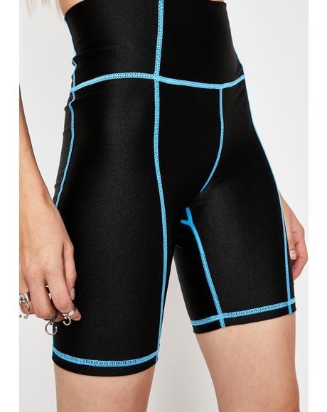 Astro Gridlock Biker Shorts