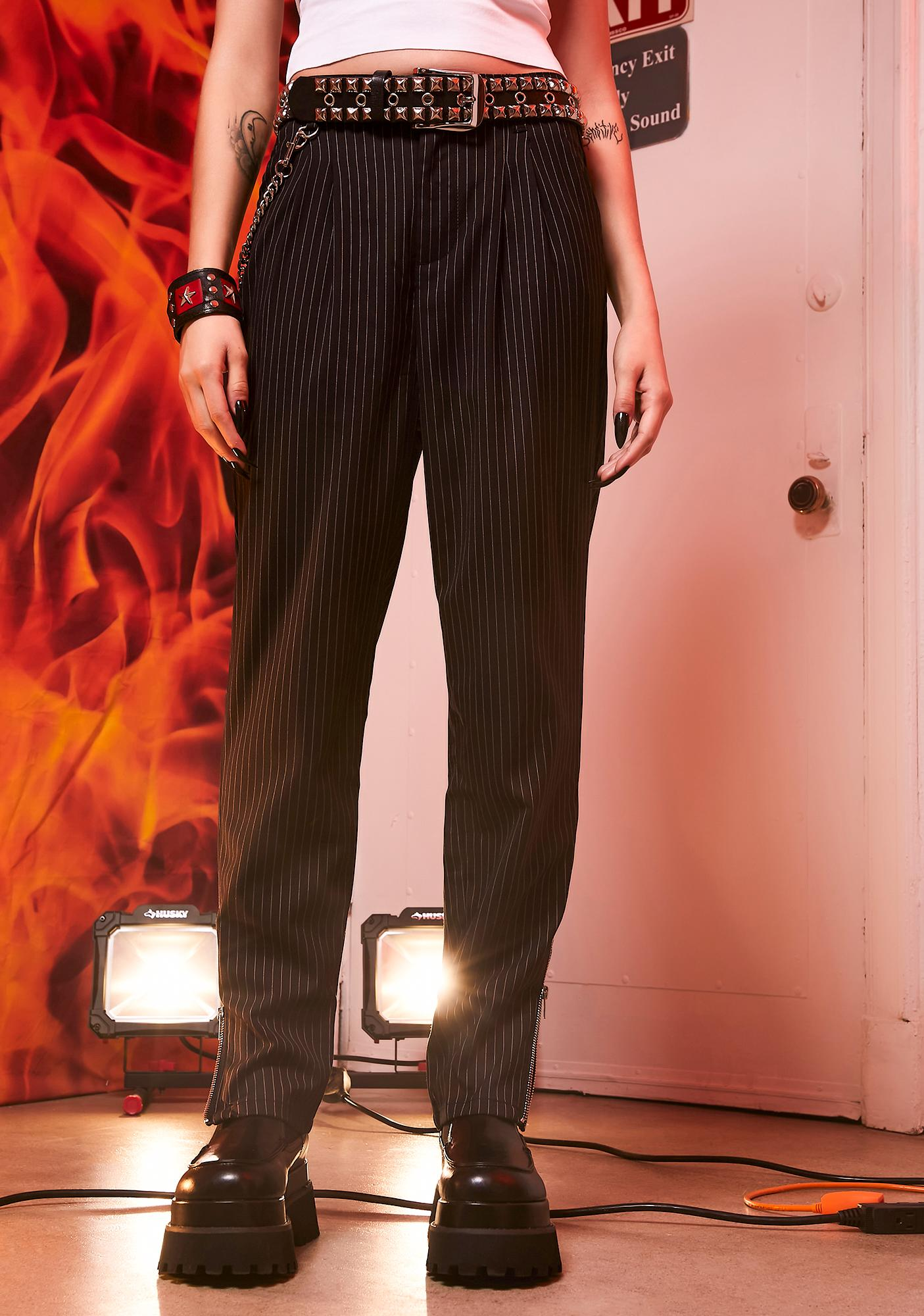 Current Mood Case The Joint Pinstripe Pants