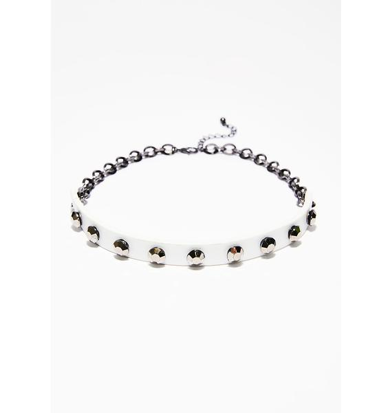 Just Don't Care Choker Set