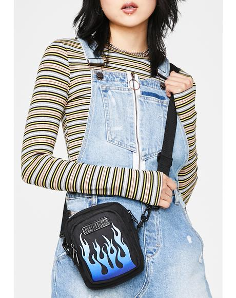 Freaky Flame Crossbody Bag