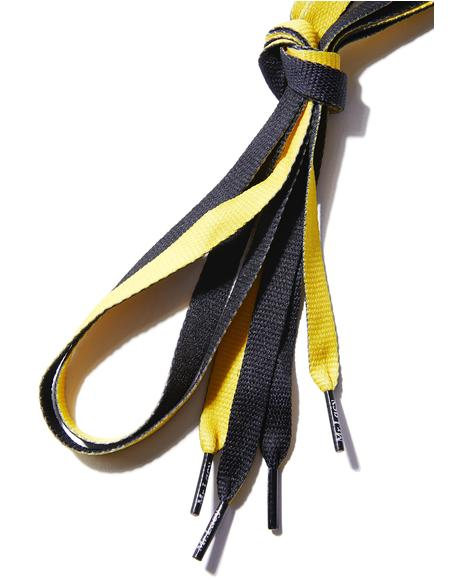 Bumble Babe Shoelaces