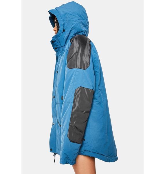 HUF Digital Teal Horizon Trail Jacket