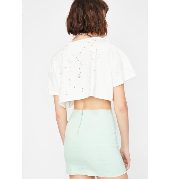 Juniper Pretty Posse Mini Skirt