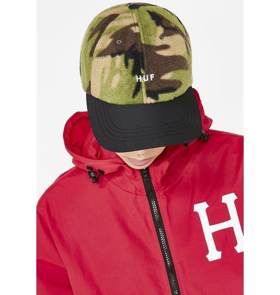 HUF Polar Fleece 6 Panel Hat