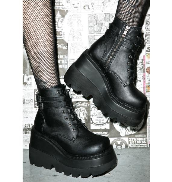 Demonia Technopagan Boots