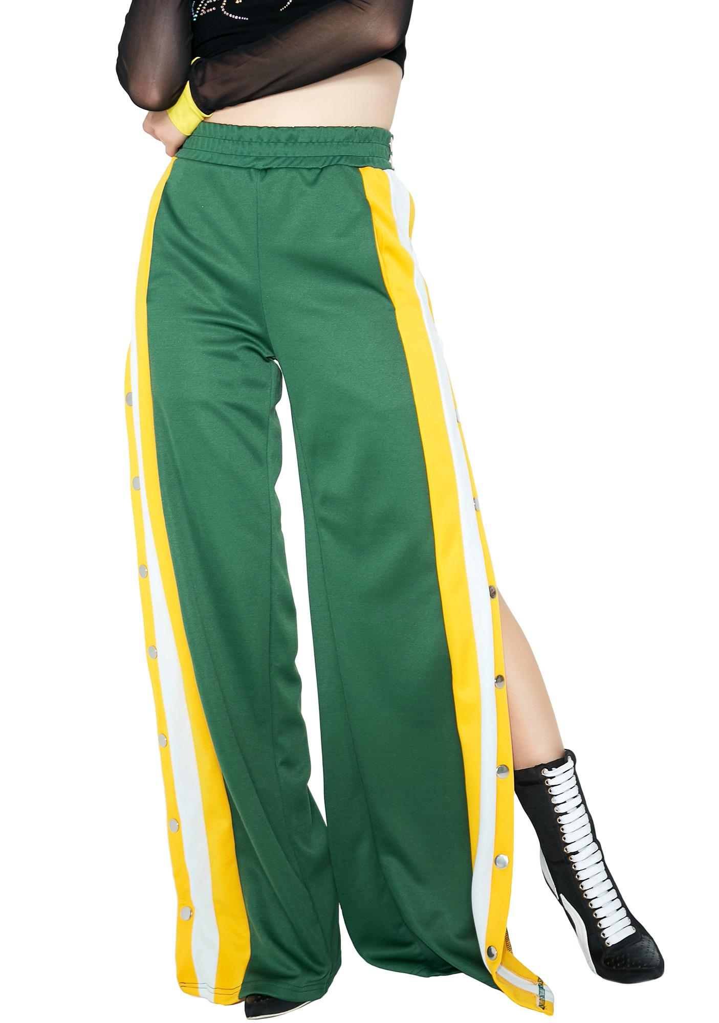 To The Max Button Track Pants